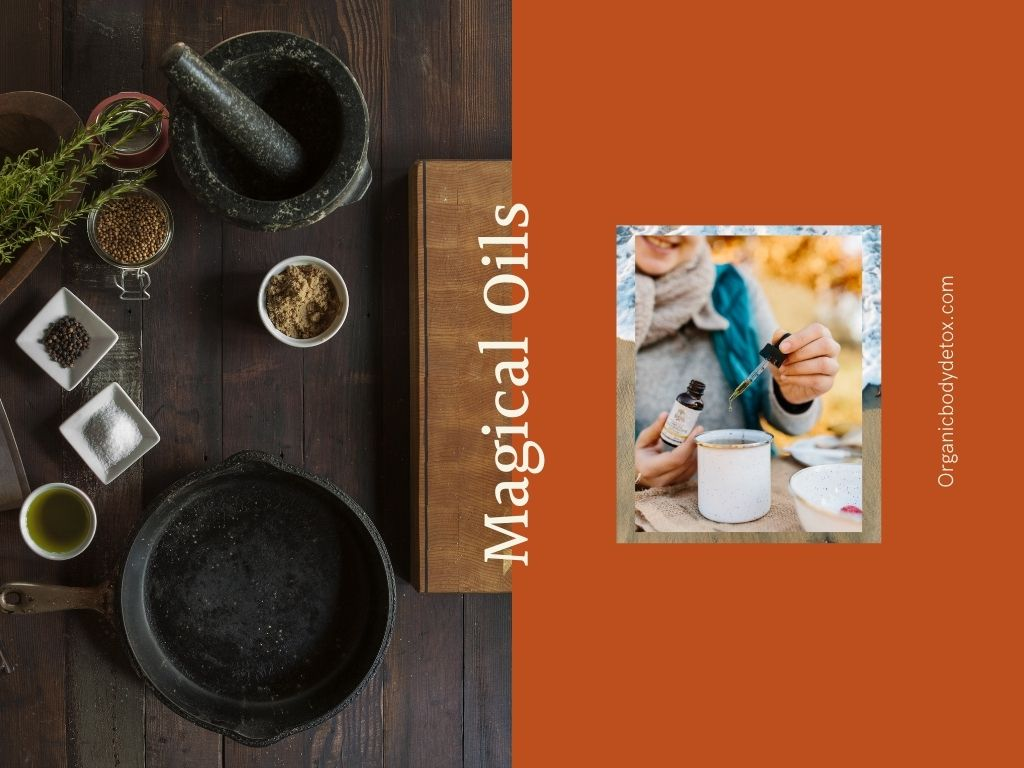 Spiritual oils combinations